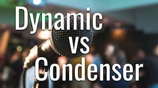 Dynamic vs Condenser Mics | Sound Engineering Workshop