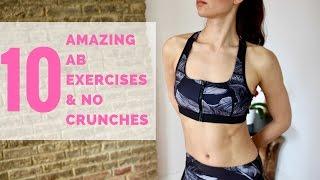10 Amazing Ab Exercises | No Crunches