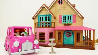 बच्चों, चलो Woodzeez खिलौना गुड़ियाघर के साथ आम शब्द सीखें!