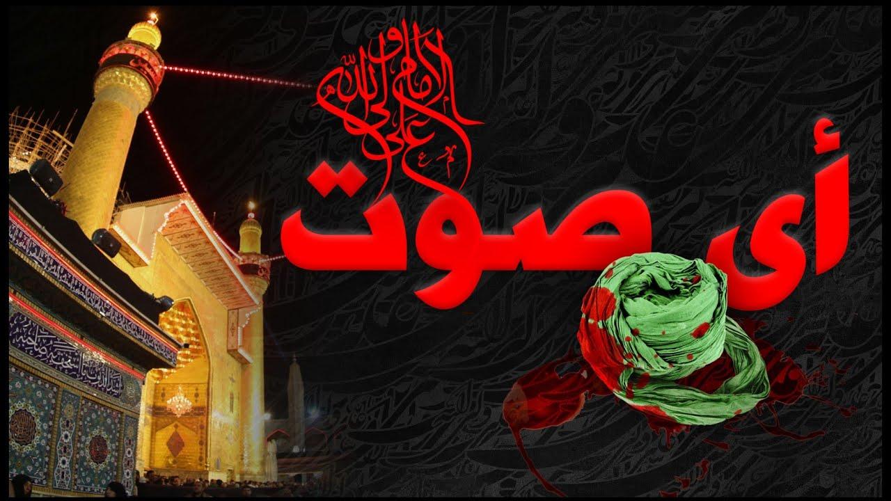 أي صوت   الذكرى السنوية لإستشهاد أمير المؤمنين   الإمام علي بن ابي طالب عليه السلام