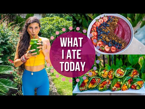 What I Ate Today   Life & Fitness Updates   FullyRaw Vegan