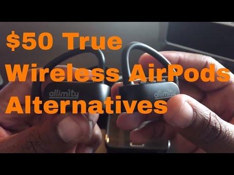 Budget Headphones - $50 Allimity True Cable-free Bluetooth Headphones #BluetoothReview