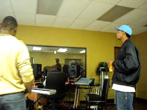 B7 in the studio in OKC