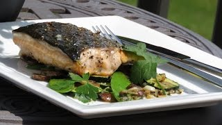 How To Make Grilled Maple Glazed Salmon Recipe 2015