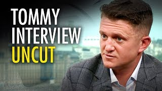 Tommy Robinson and Ezra Levant (UNCUT EXTENDED INTERVIEW)