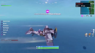 Fortnite Season 7 Battle Pass MrAlanC In A Airplane The Entire Match