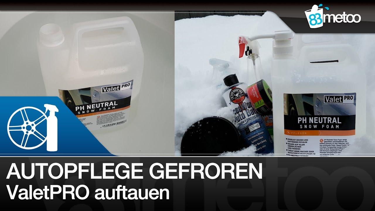 Autopflegeprodukte Bei Minustemperaturen   Valetpro Snow Foam
