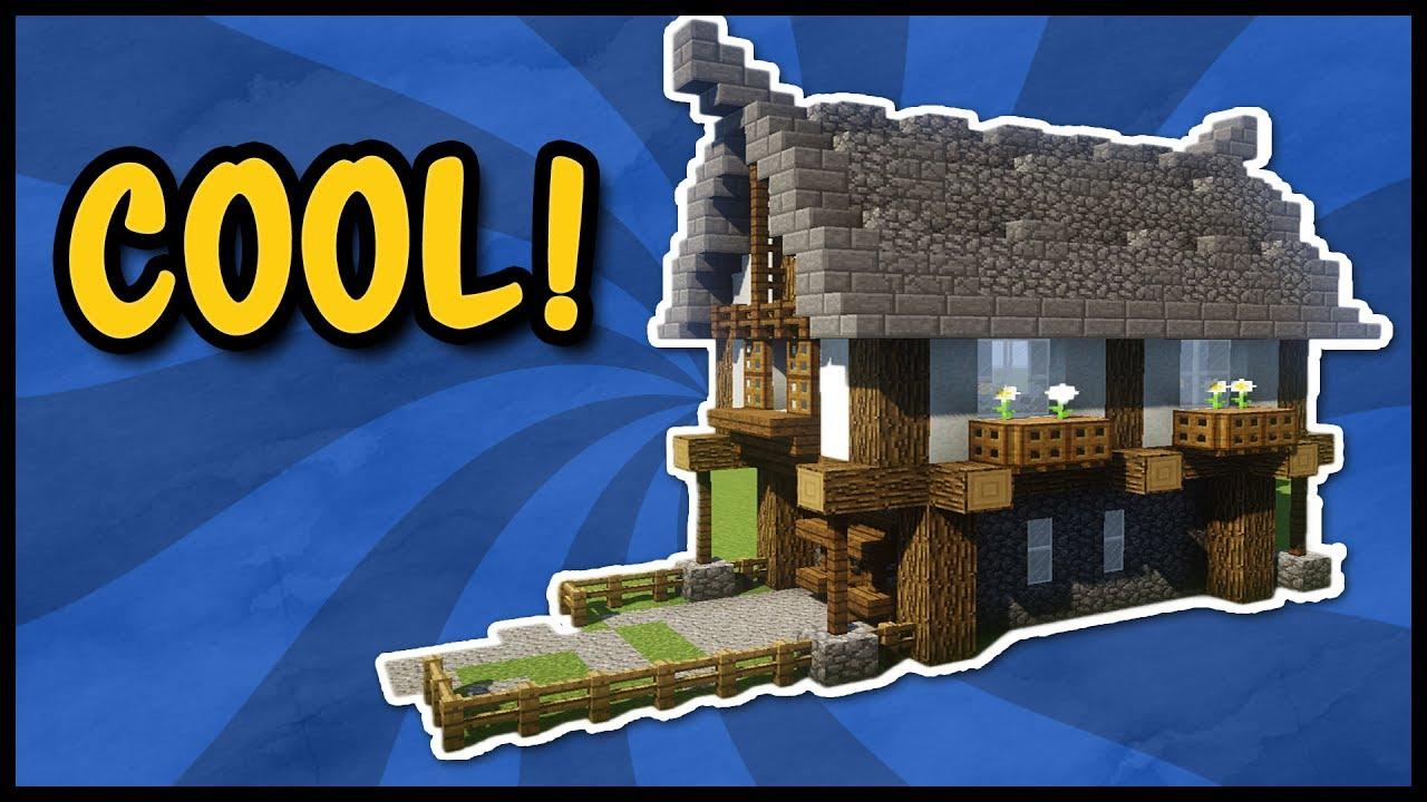Tutorial kleines mittelalter haus in minecraft so baut for Minecraft modernes haus zum nachbauen