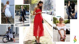 видео Модные фасоны летних платьев: с чем носить, фото