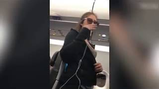 Drunk Woman Spazzes Out On Fellow Passengers & Spits On A 3 Year Old
