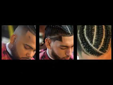 Compilation of 1 hour of Top 40 Cool African American Men's Braids Hairstyles 2018   YouTube