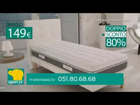 Materassi Eminflex Prezzi.Nuova Offerta Materasso Rigenera Di Eminflex Youtube