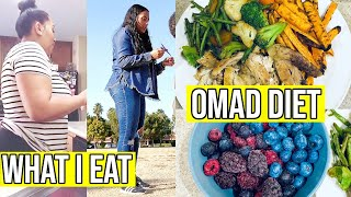 WHAT I EAT IN MY OMAD DIET / SIMPLE AND QUICK MEALS / OMAD FOR WEIGHT LOSS