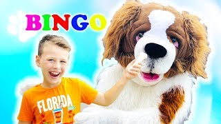 BINGO song & Nursery rhymes for children toddlers