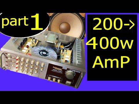 Amplifiers Circuit Diagram | 400w Audio Amplifier Circuit Diagram Youtube