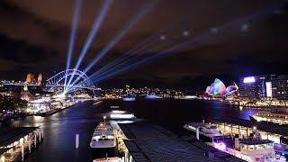 Sydney turns on the lights for world's largest Vivid Light Festival