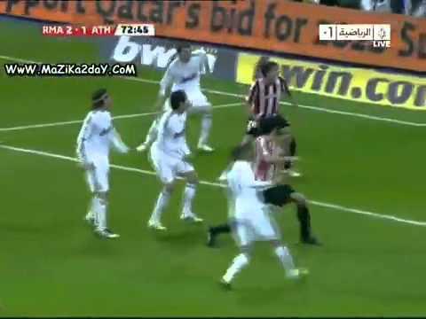 ريال مدريد 5 - 1 اتلتيك بلباو 2010 من الذاكره