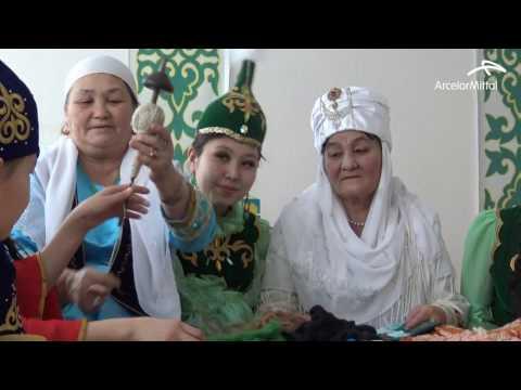 Традиции казахского народа в преддверии праздника Наурыз.