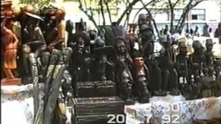 Lloyd Lachman: vakantie 1992 Curacao met de kinderen.