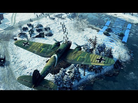 STAND YOUR GROUND - Railway Defense Line | Sudden Strike 4 Winter Storm DLC Gameplay