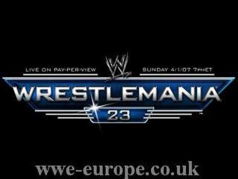 Revelations - WrestleManai 23 All Grown Up theme