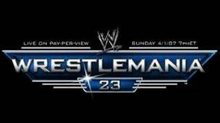 Revelations - WrestleManai 23 All Grown Up theme