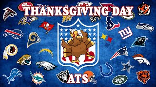 The Spread: Thanksgiving Day NFL Picks ATS (2014)