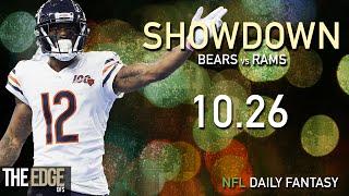 Breaking down the showdown slate for monday night football, october 26th | chicago bears vs los angeles rams@tysonjsmith1 & @adubbsking24musicsong: geoxor - ...