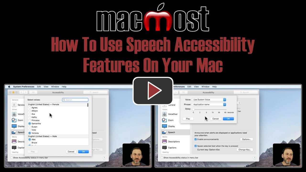 How To Use Speech Accessibility Features On Your Mac (#1707)