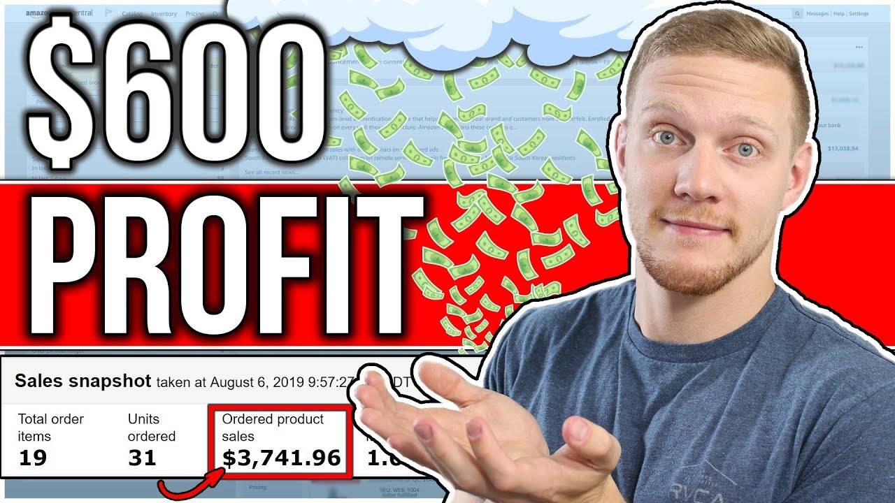 How I Made Over $600 PROFIT in 1 Day Amazon Dropshipping | Start Selling on Amazon in 2020