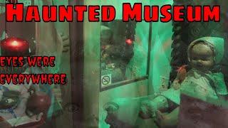 Creepy Haunted Museum 👀 👀 Eyes were everywhere!