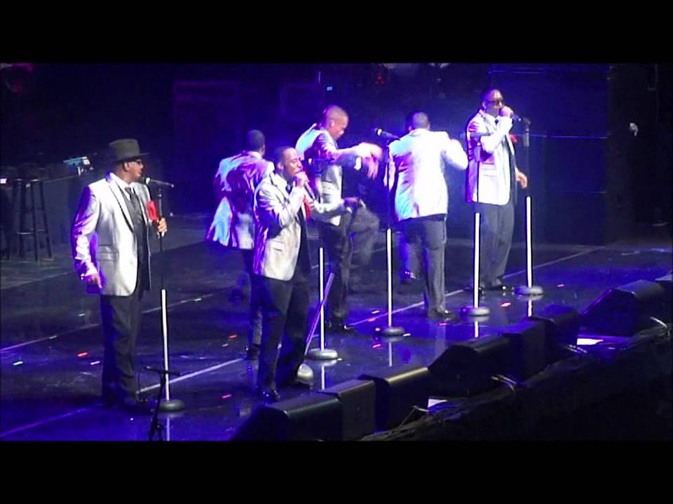 """New Edition - (LIVE) Video Clips: """"Hit Me Off"""" and """"Can U Stand The Rain"""" - YouTube"""