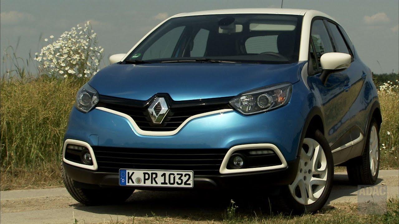Renault Captur Im Test Autotest 2013 Adac