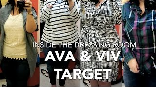 Inside The Dressing Room: TARGET PLUS SIZE AVA & VIV