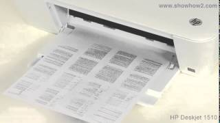 HP Deskjet 1510 All-in-One Printer - Printing Documents 16 UP
