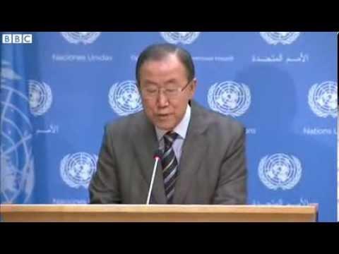WORLD NEWS  UN invites Iran to Syria peace talks   Breaking news