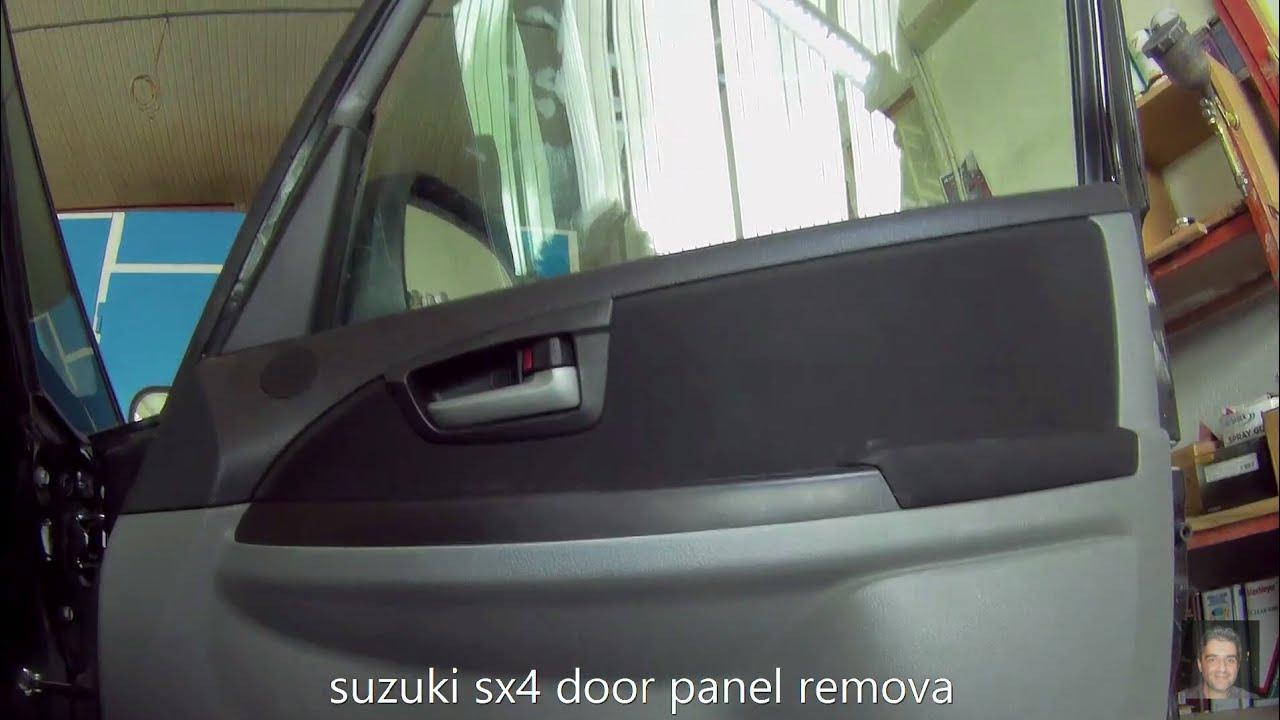 suzuki sx4 2006 2014 door panel removal [ 1280 x 720 Pixel ]