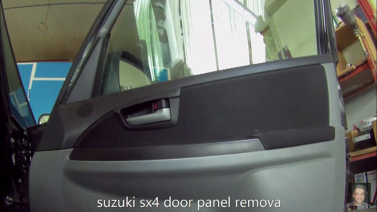 hight resolution of suzuki sx4 2006 2014 door panel removal