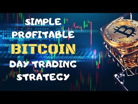 Simple Profitable BITCOIN Day Trading Strategy