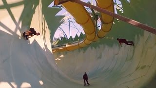 Empty Dubai waterpark is a skater's wet dream