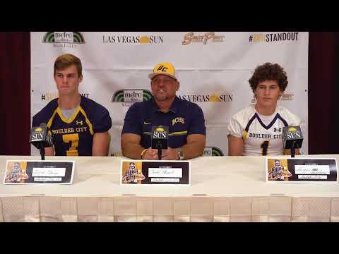Boulder City High football video preview, 2017