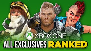 Ranking Every Xbox One Exclusive From Worst To Best