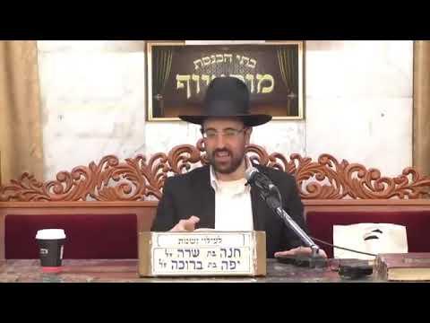 """הרב מאיר אליהו - פרשת שמיני - תשע""""ט - מוסאיוף"""