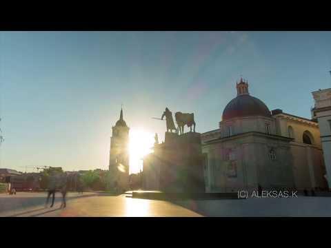 Vilnius in time-lapse