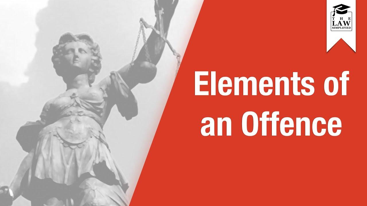 5 elements of criminal liability