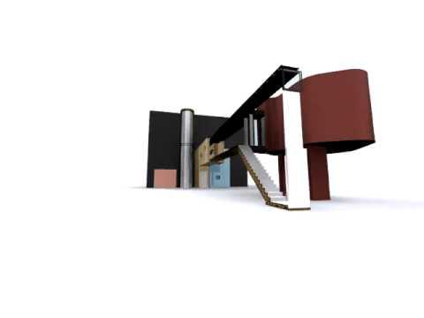 John Hejduk- Wall House Study