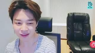 BTS Jimin Singing Promise (w/ ASMR) on VLIVE