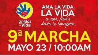 9na Marcha por la Vida Colombia - Promo