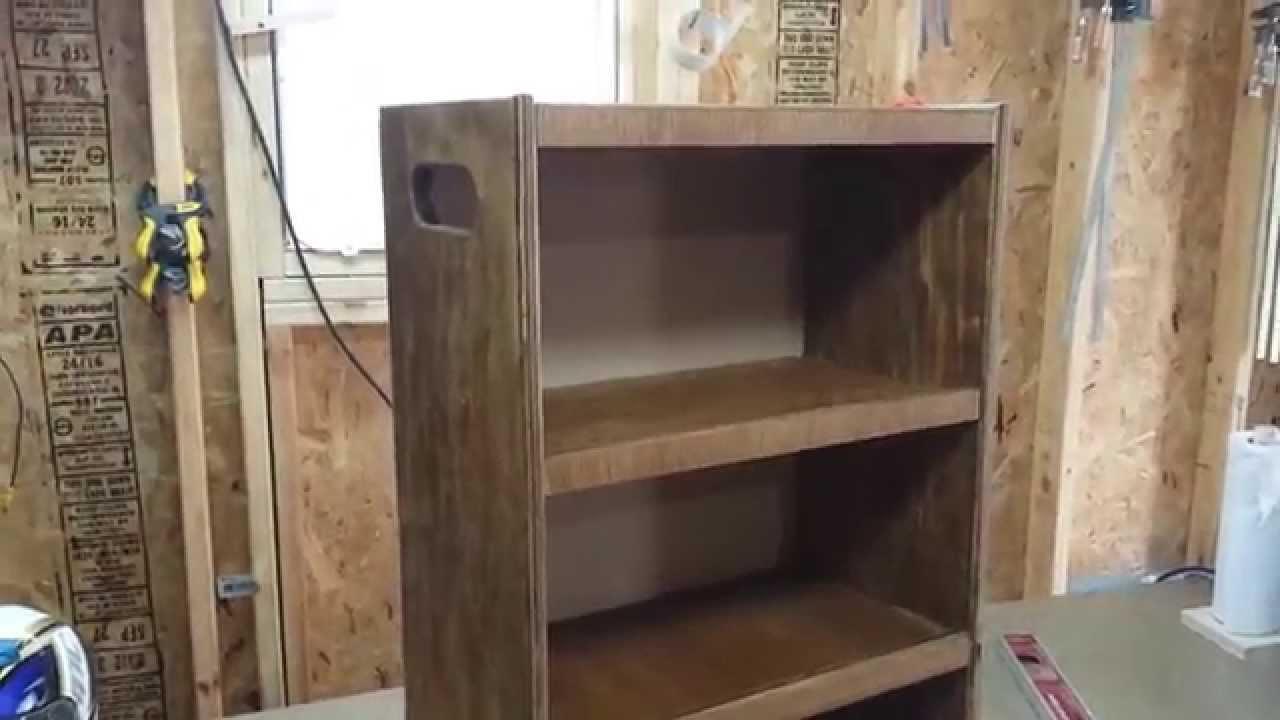 Bathroom rolling storage cabinet - YouTube