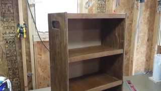 Bathroom Rolling Storage Cabinet
